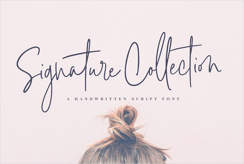 Signature-Collection-Script-Font