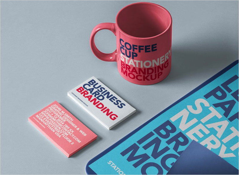 Stationery-Branding-Set-with-Cup-Mockup