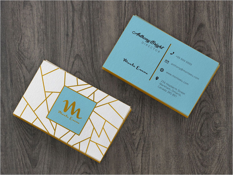 Colored-Edge-Front-&-Back-Business-Card-Mockup-PSD