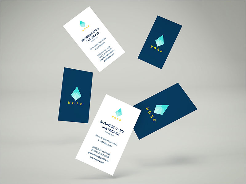 Falling-Business-Cards-Mockup