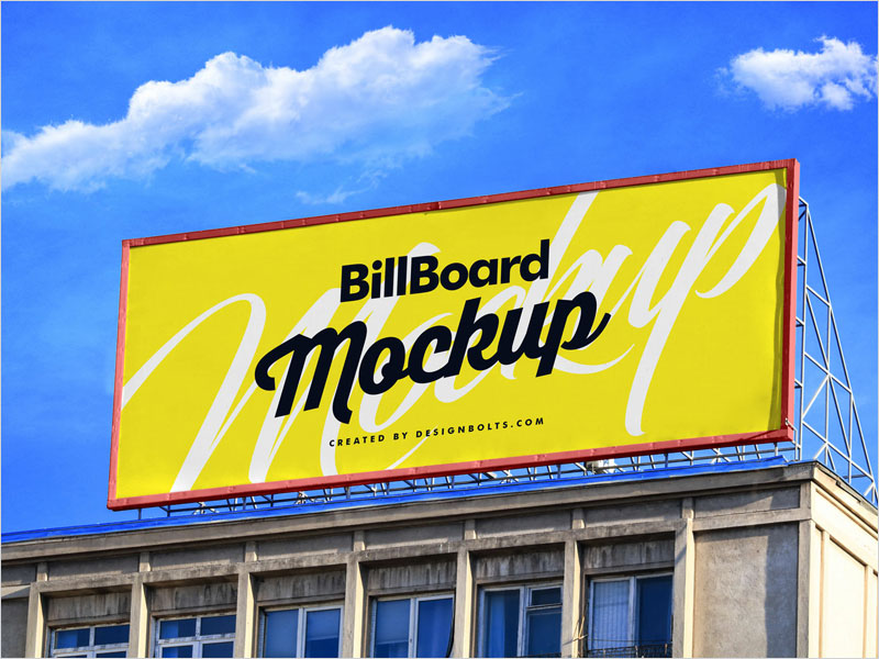 Free-Billboard-On-Building-Mockup-PSD