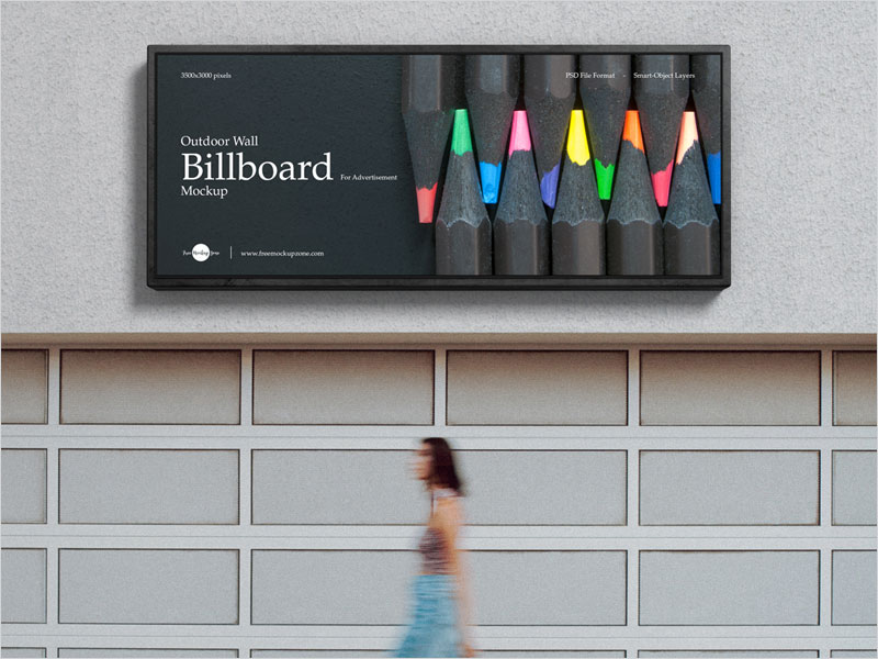 Free-Outdoor-Wall-Billboard-Mockup
