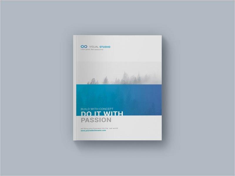 Hardcover-Brochure-Mockup