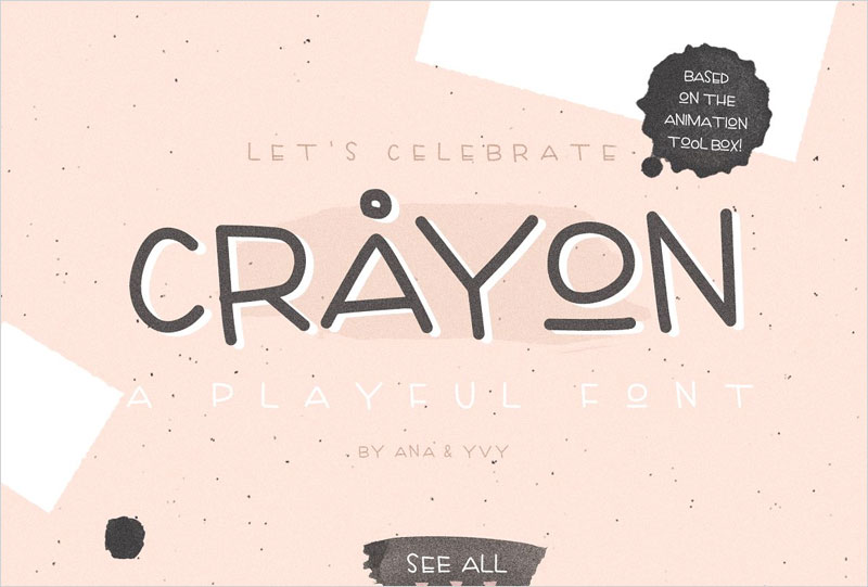 Crayon---handwritten-playful-font