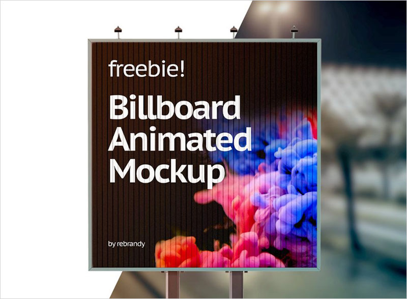 Free-Animated-Street-Billboard-Mockup