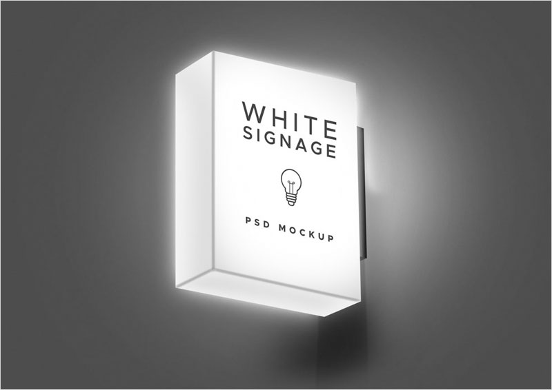Free-Light-Sign-Mockup