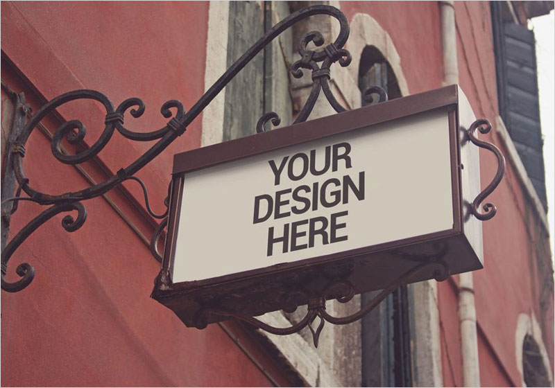 Free-Traditional-Shop-Signage-Mockup