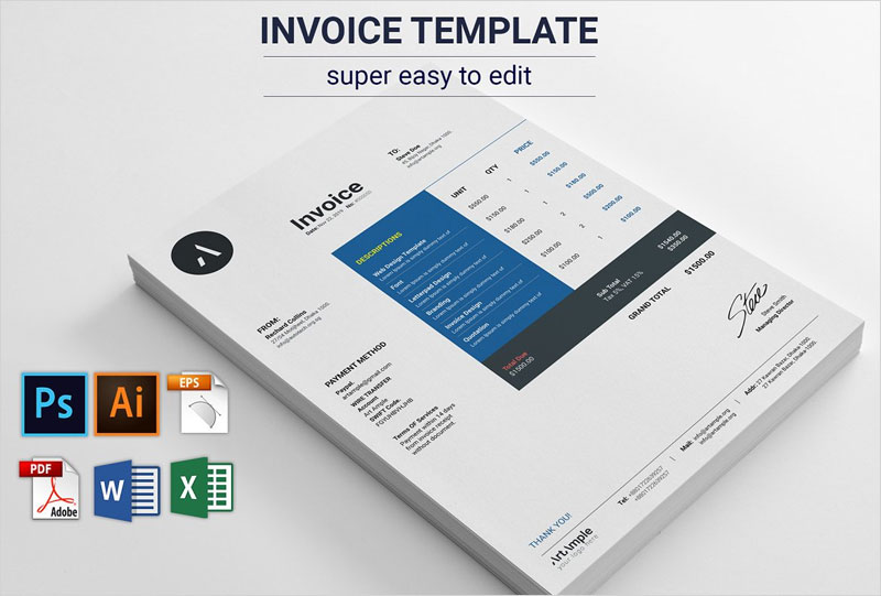 Modern-Invoice-Template