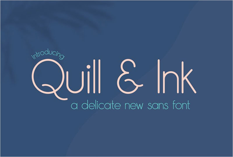 Quill-&-Ink-Sans-Font
