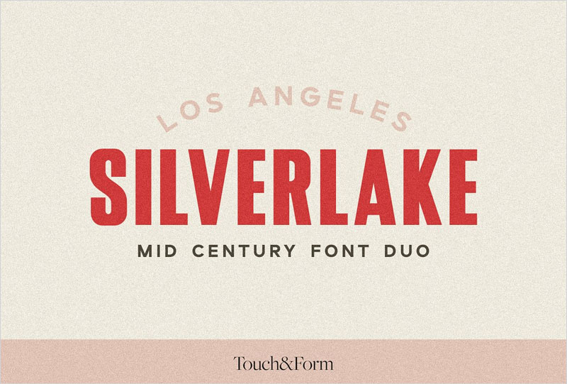 Silverlake-A-Mid-Century-Font-Duo