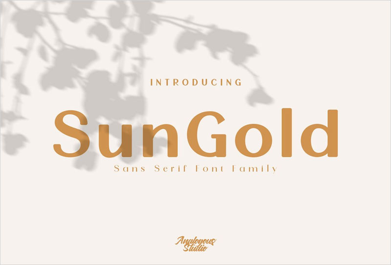 SunGold---Font-Family