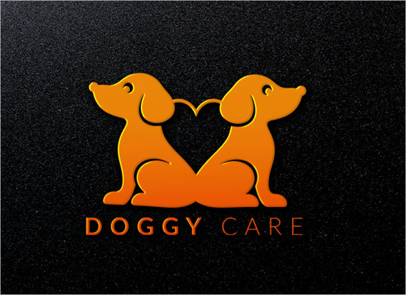 Doggy-Care-minimalist-Logo