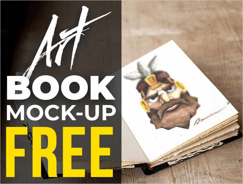 FREE---Art-Book-Realistic-Mock-up
