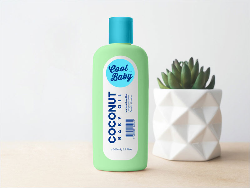 Free-Baby-Oil-Plastic-Bottle-Mockup-PSD