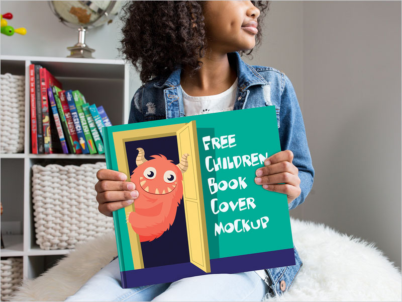 Free-Children-Book-Cover-Mockup