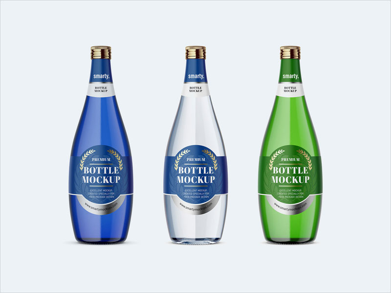 Free-Glass-Bottle-Mockups-Set