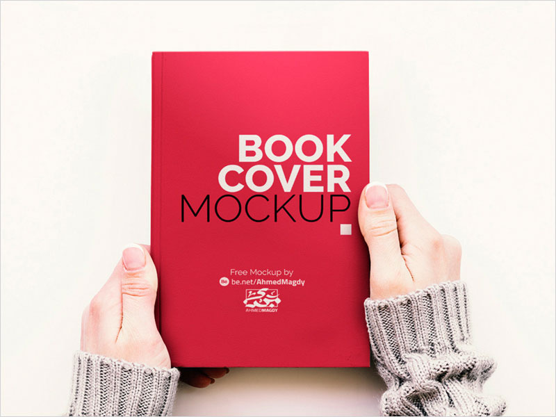 Free-Hand-Held-Book-Cover-Mockup
