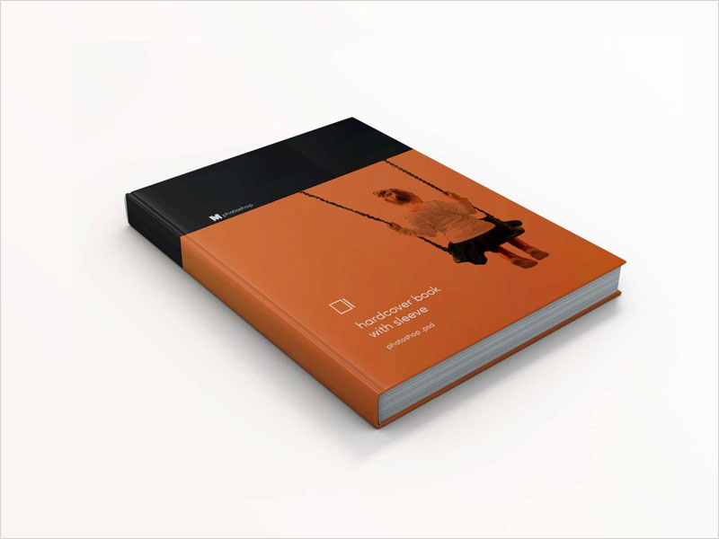 Free-Hard-Cover-Book-Mockup