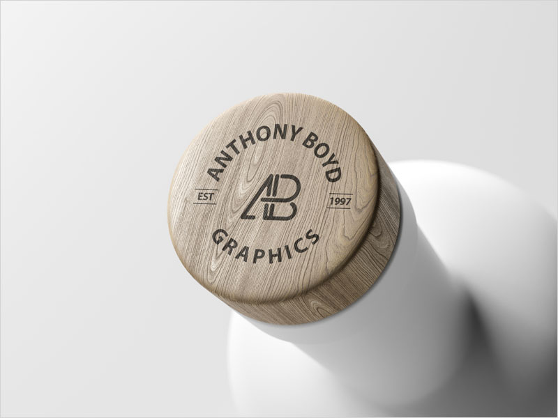 Free-Matte-Bottle-Top-Logo-Mockup