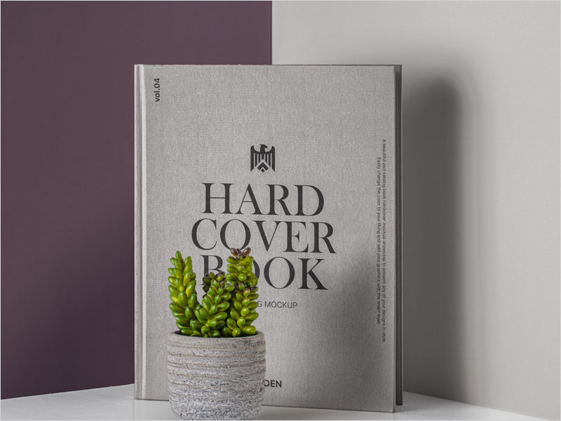 Free-Psd-Hardcover-Book-Mockup