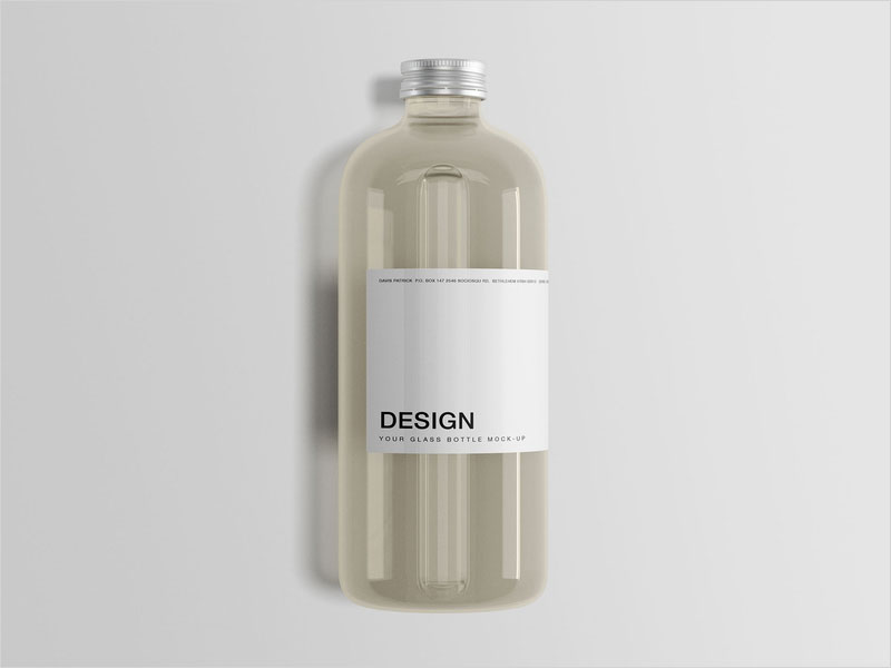 Glass-Bottle-Mockup