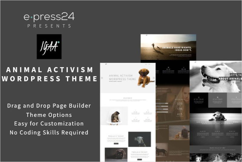 Igaa---Animal-WordPress-Theme