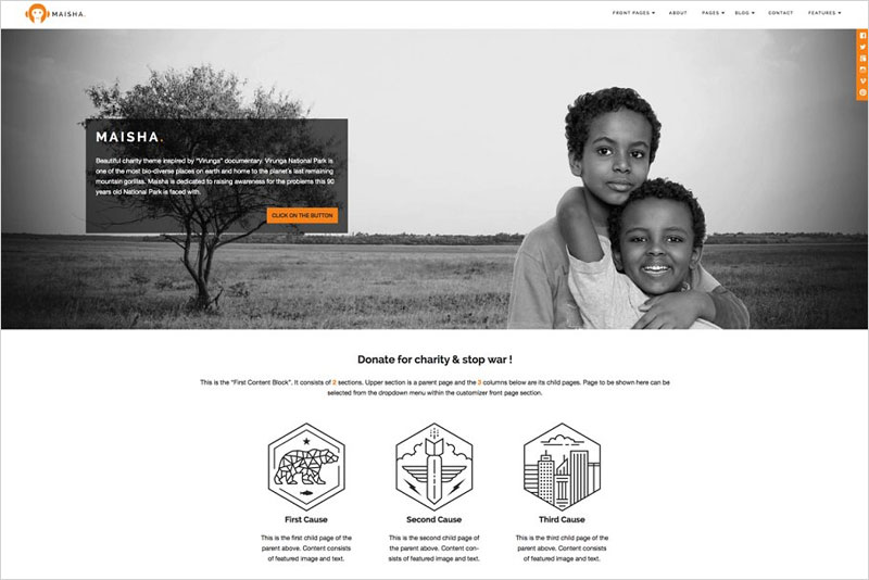Maisha---Charity-WordPress-Theme