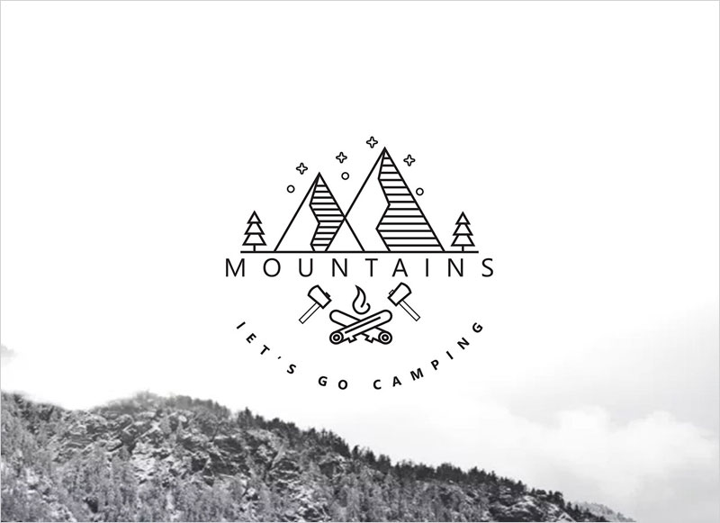 Mountain-Minimal-Logo