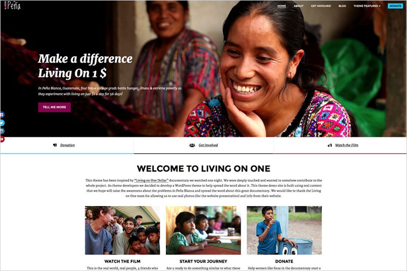 Pena---Charity-WordPress-Theme