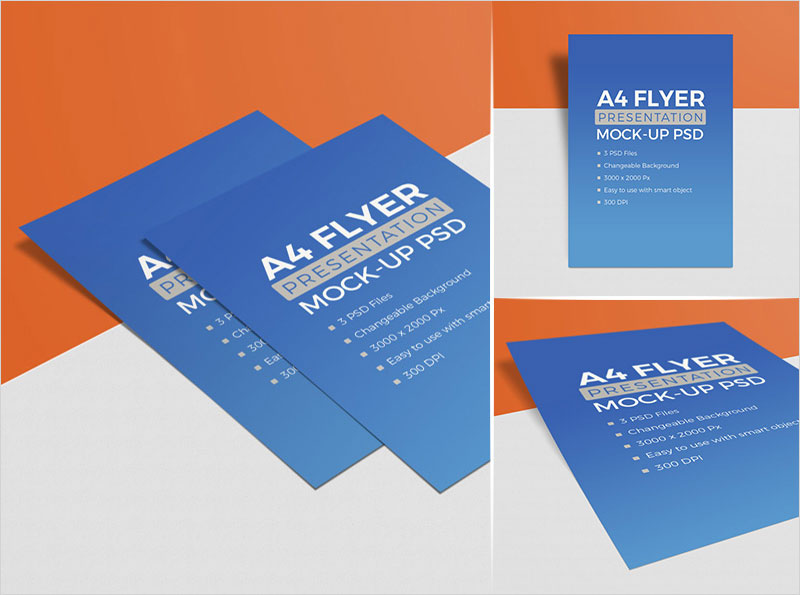 3-High-Quality-Free-A4-Flyer-Mockup-PSD-Set