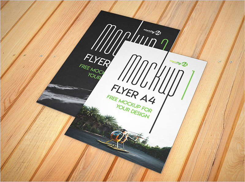 Free-Flyer-A4-–-2-PSD-Mockups