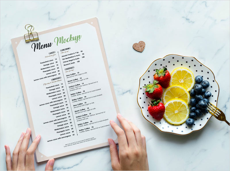 Free-Restaurant-Menu-Flyer-Mockup-in-PSD