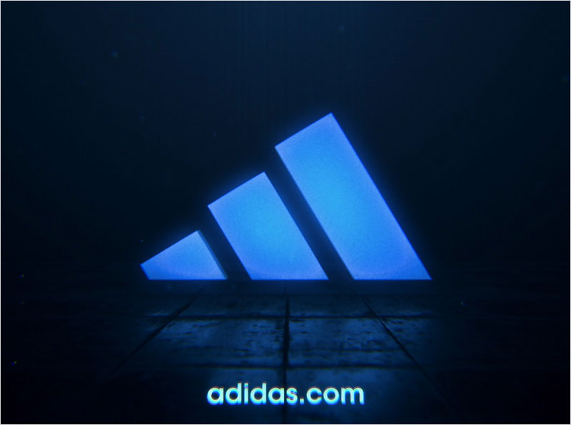 Adidas---Logo-in-Motion