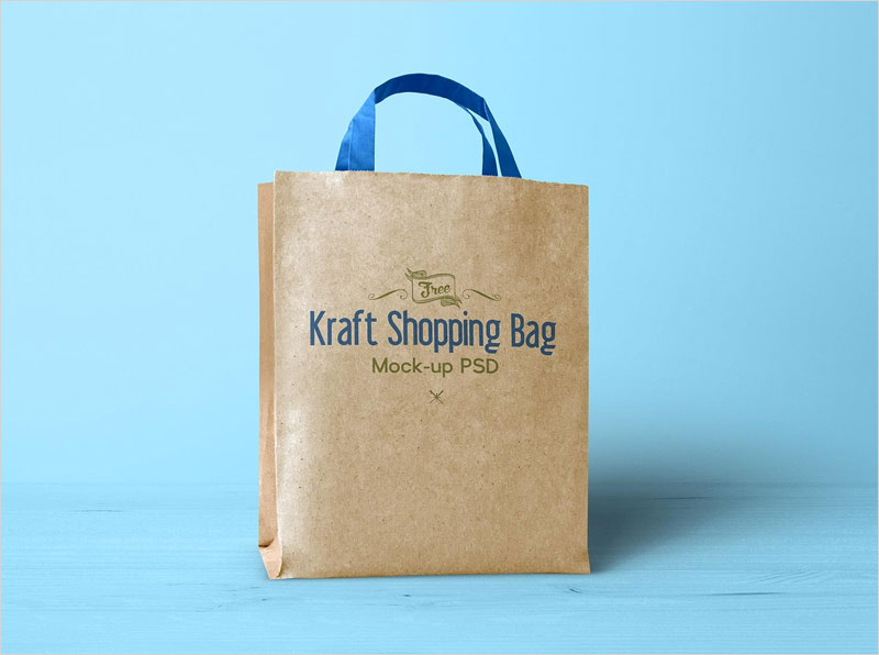 Free-Kraft-Paper-Shopping-Bag-Mockup-PSD