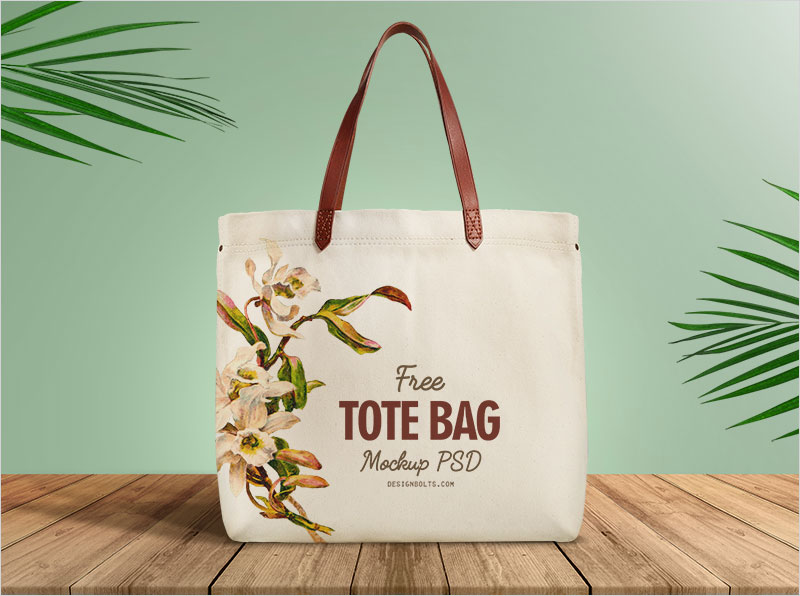 Free-Organic-Cotton-Tote-Shopping-Bag-Mockup