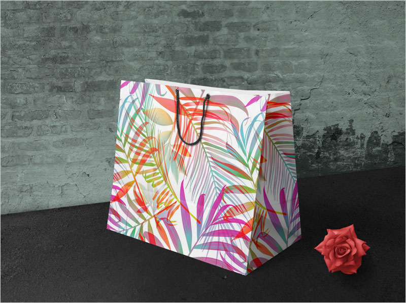 Free-Shopping-Paper-Bag-Design-Mockup