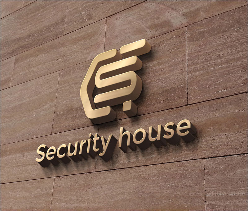 Logo-design-security-house