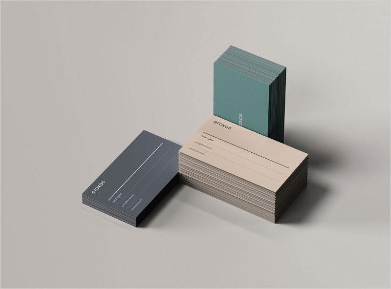 3-Business-Card-Stacks-Mockup