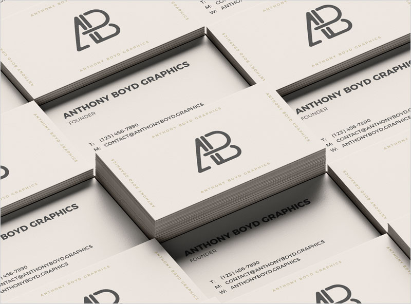 Business-Card-Grid-Mockup
