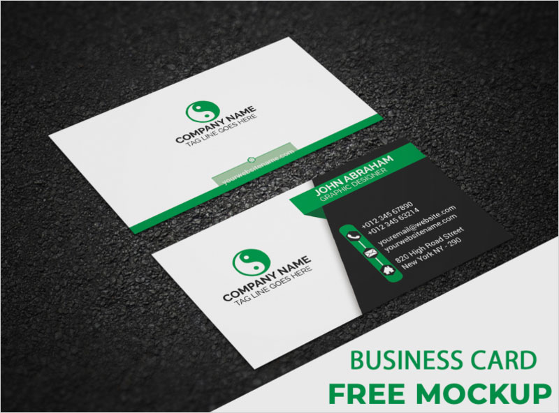 Free-Business-Card-PSD-Mockup