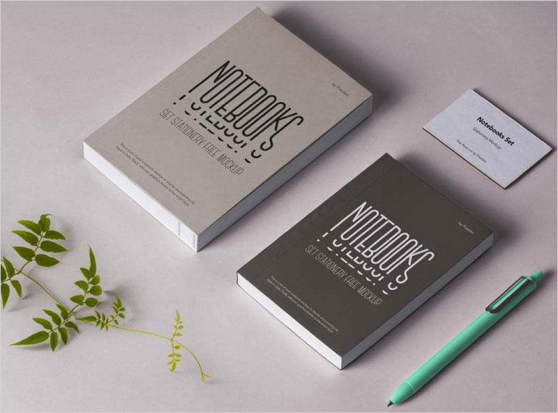 Free-Notebook-Mockup-with-Pen-and-Business-Card