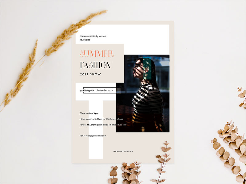 Fashion-Flyer