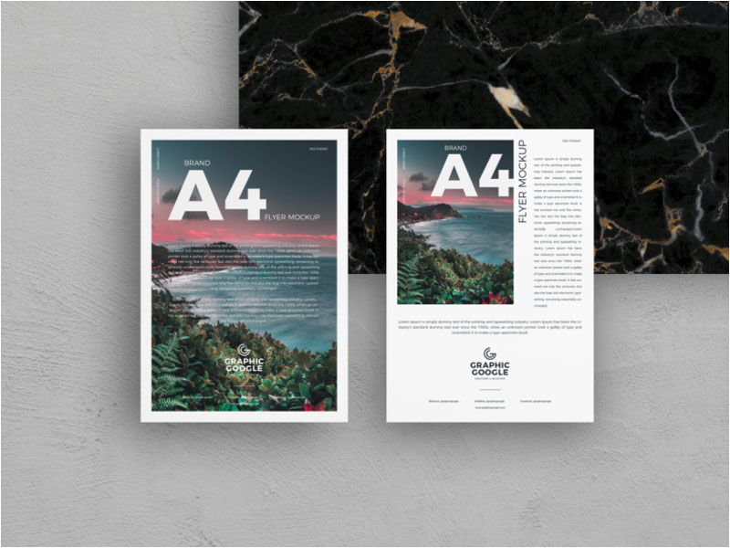 Free-Brand-A4-Flyer-Mockup