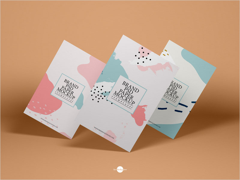 Free-Brand-PSD-Paper-Mockup-Template
