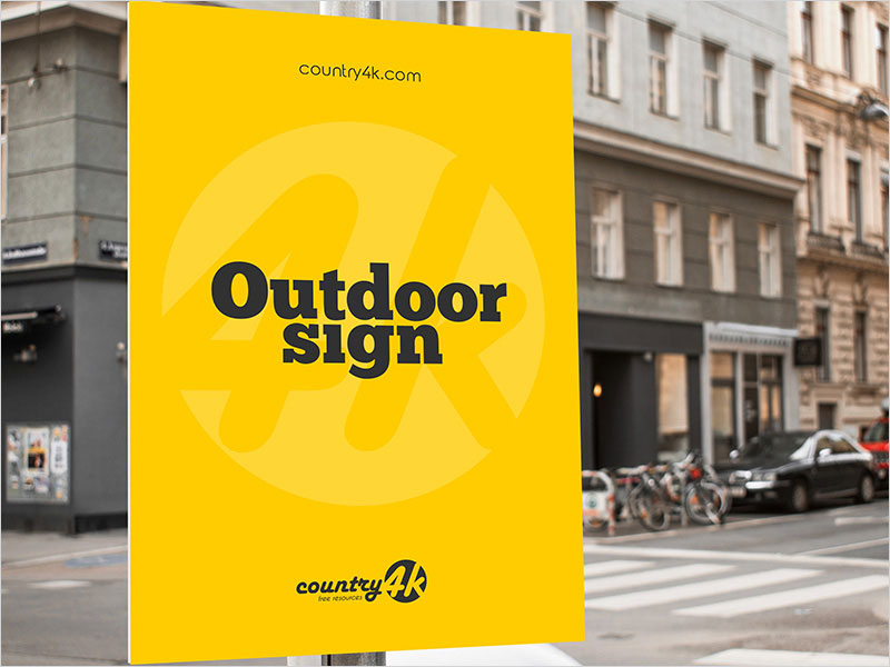 Free-Outdoor-Sign-PSD-MockUp-in-4k