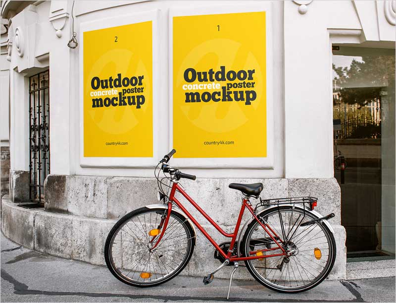 2-Free-Outdoor-Concrete-Poster-MockUps-PSD