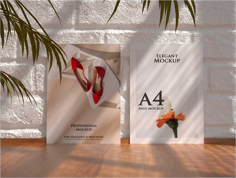 A4-Poster-Realistic-Free-PSD-Mockup