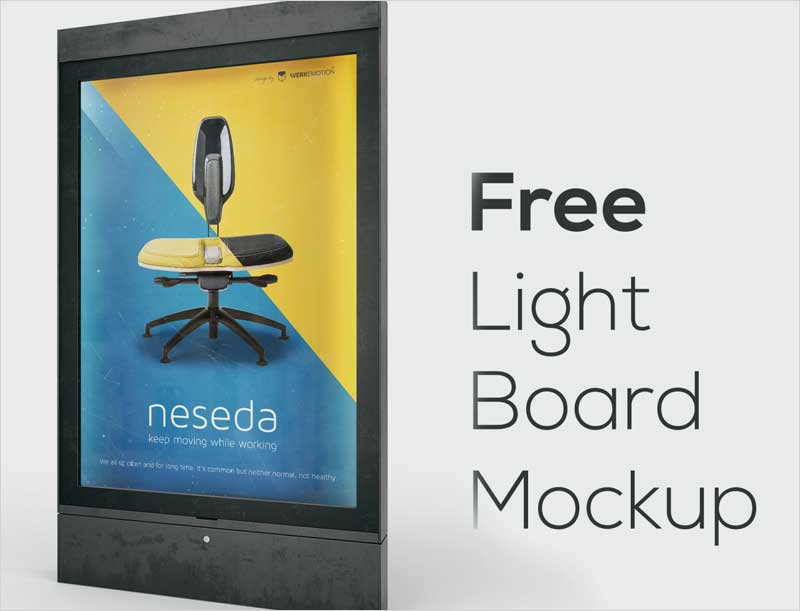 Free-Light-Board-Mockup