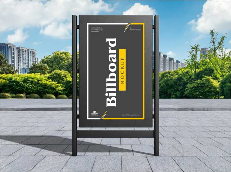 Free-Modern-City-Billboard-Mockup