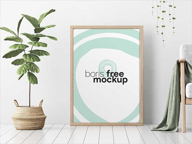 Free-Professional-Rectangle-Poster-Mockup